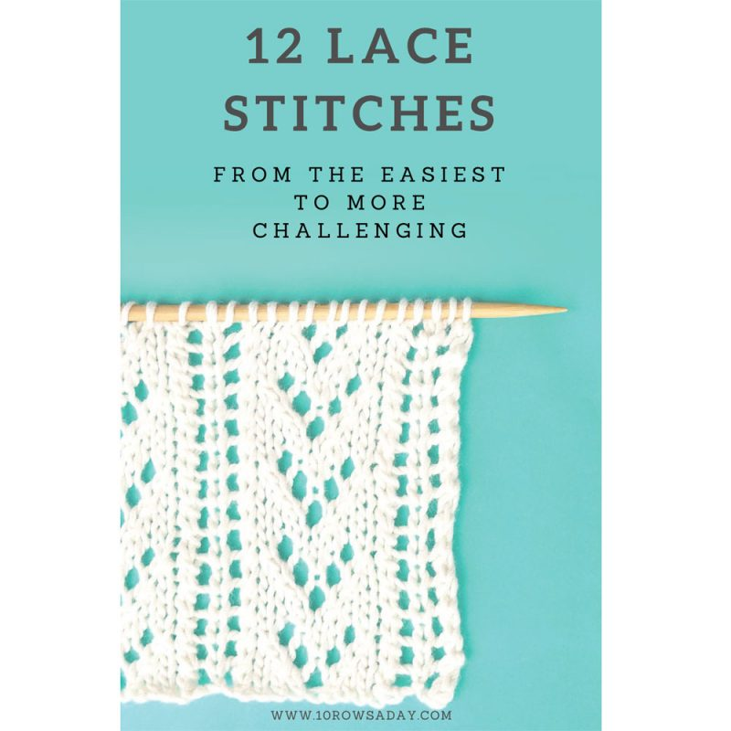 12 lace Stitches E-Book