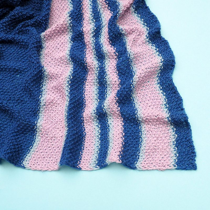 Cozy Blanket Scarf Knitting Pattern