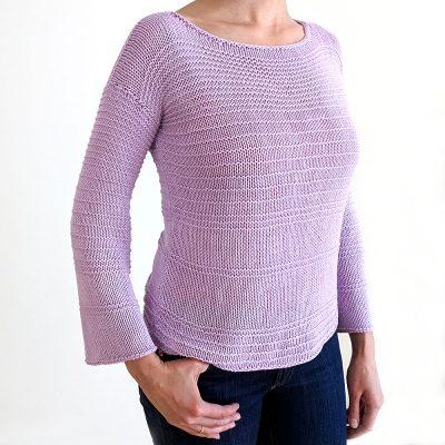Facile Sweater Knitting Pattern