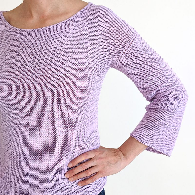 Facile Sweater Knitting Pattern