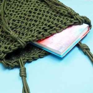 Rope Bag Knitting Pattern