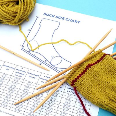 Simple Way to Knit Socks Course