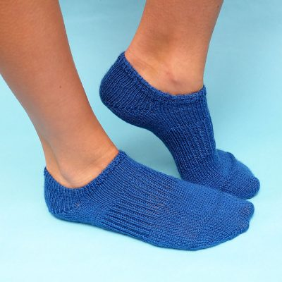 Sneaker Socks Knitting Pattern