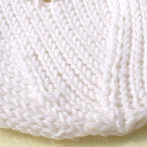 Snowflake Baby Hat Knitting Pattern