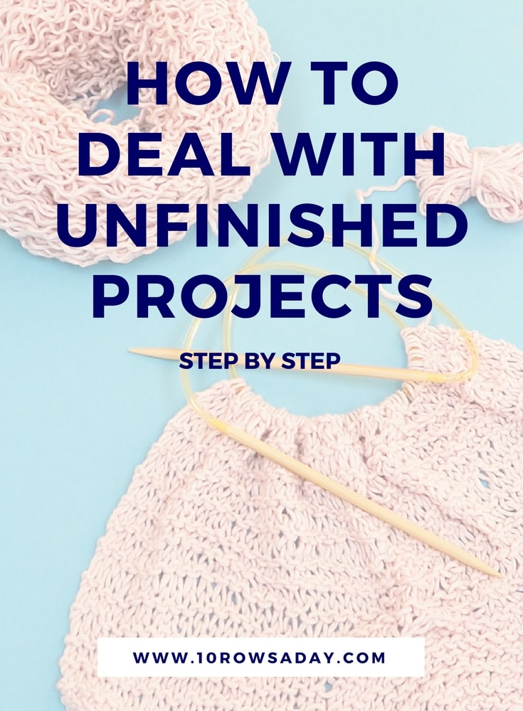 Dealing with Unfinished Projects - Online Course | 10 rows a day