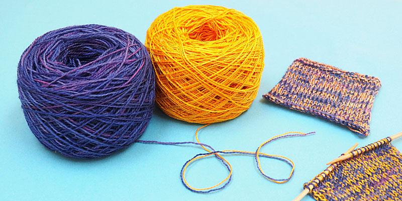 Make Your Own No Nylon Sock Yarn