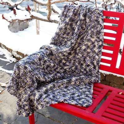 Friendly Blanket Knitting Pattern