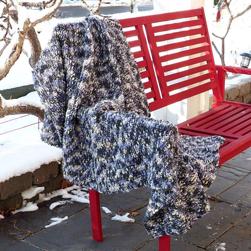 Friendly Blanket Knitting Pattern