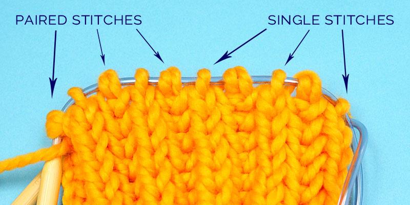 Simple Way to Knit Brioche Stitch in the Round