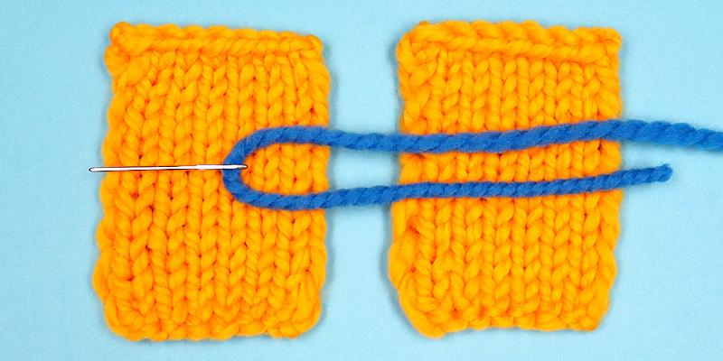 Great Way to Seam Slip Stitch Edges
