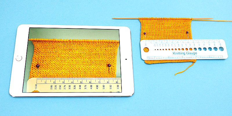 How to Measure Gauge on Fine Knits Without Squinting