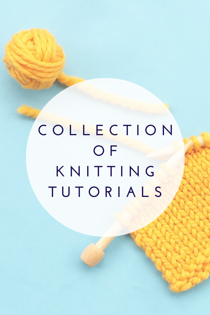 Collection of Knitting Tutorials | 10 rows a day