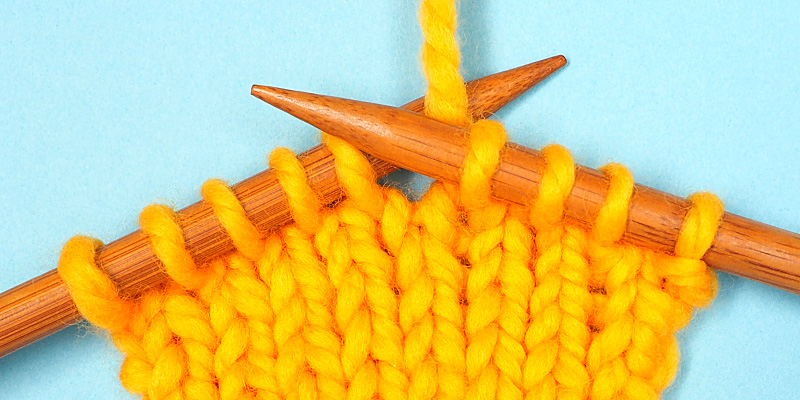 The Easiest Way to Increase Stitches in Knitting