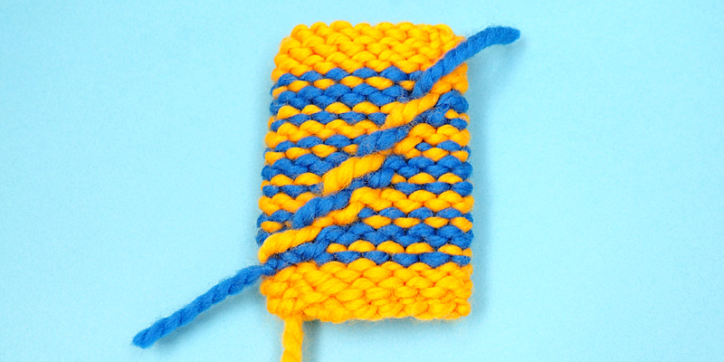 How to Knit Jogless Stripes