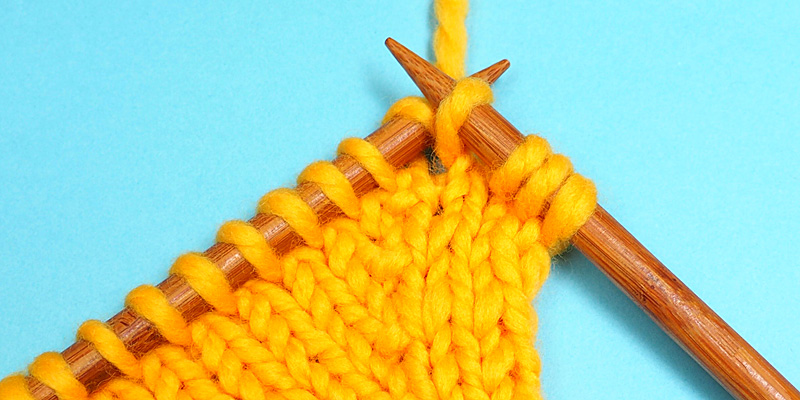 Knit Front and Back, Knit Back and Front - Two Simple Ways to Increase Stitches Without a Hole