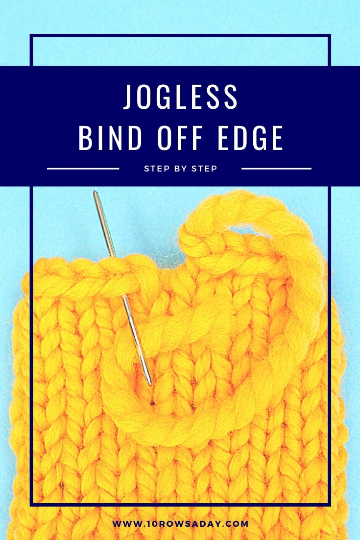 Simple Way to Fix Gap in the Bind Off Edge Worked in the Round | 10 rows a day