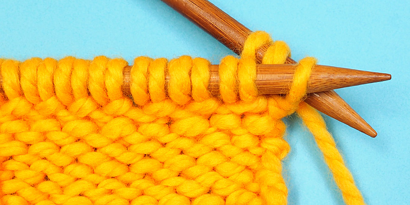 Criss-Cross Bind Off Edging Worked Flat and in the Round