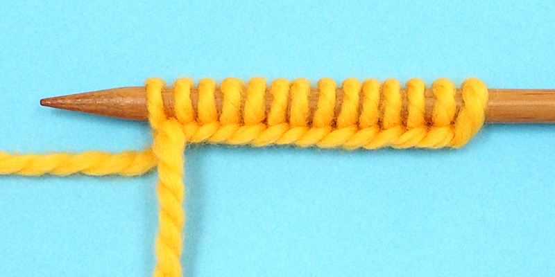 Slip-Stitch 2x2 Ribbing Düz ve Yuvarlak Olarak Çalıştı