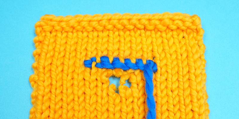 Scotch Darning – a Great Way to Repair Knits