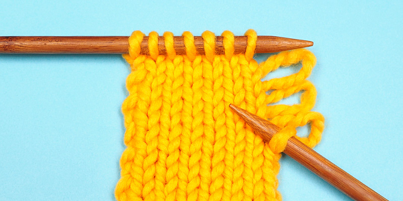 How to Fix a Dropped Edge Stitch Without a Crochet Hook