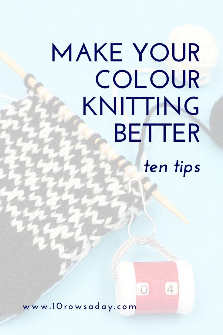 Diez formas de mejorar su tejido trenzado |  10 filas al día