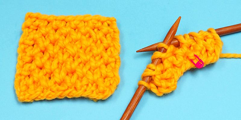 How to Knit Honeycomb Brioche Stitch